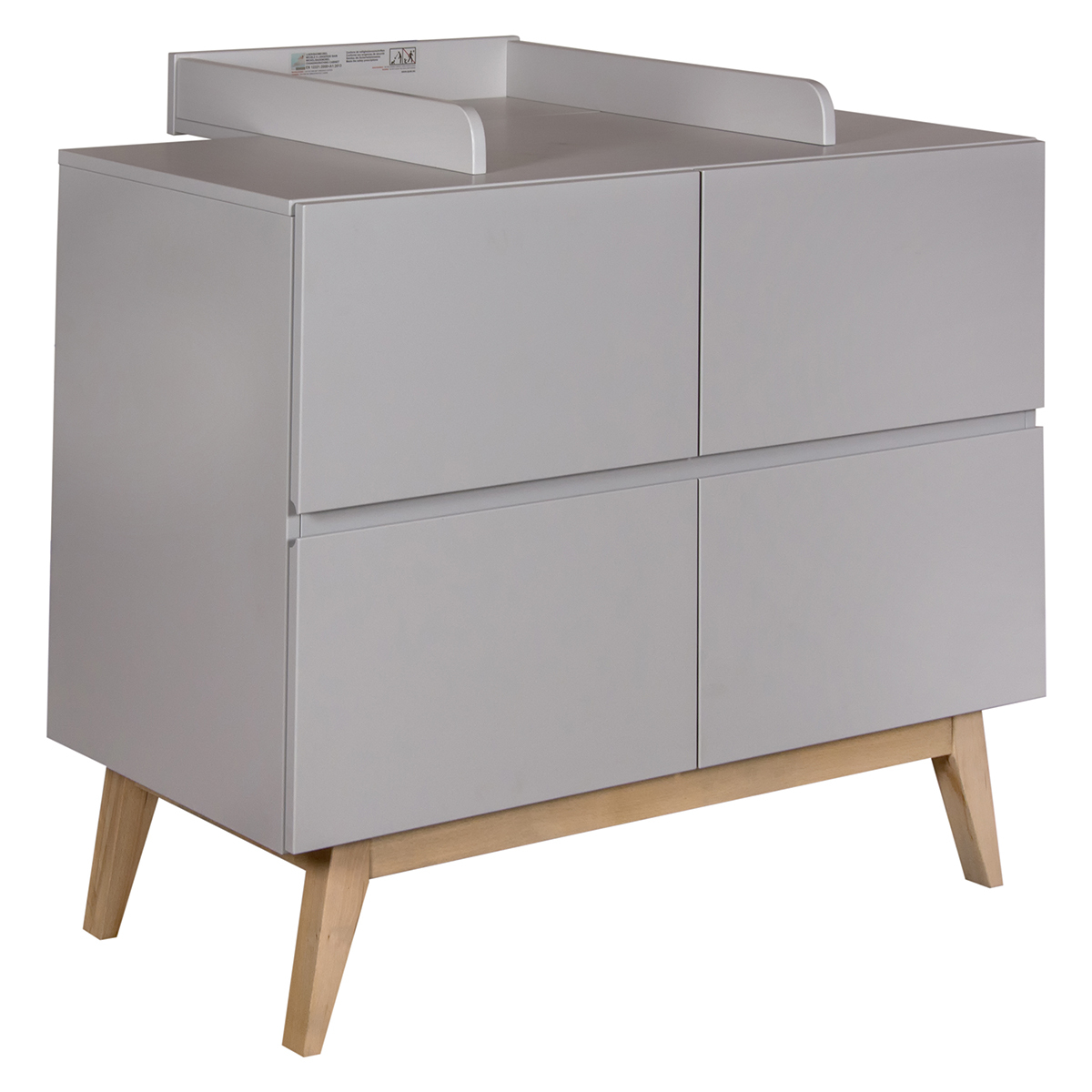 Commode Commode à Langer Trendy - Griffin Grey Commode à Langer Trendy - Griffin Grey