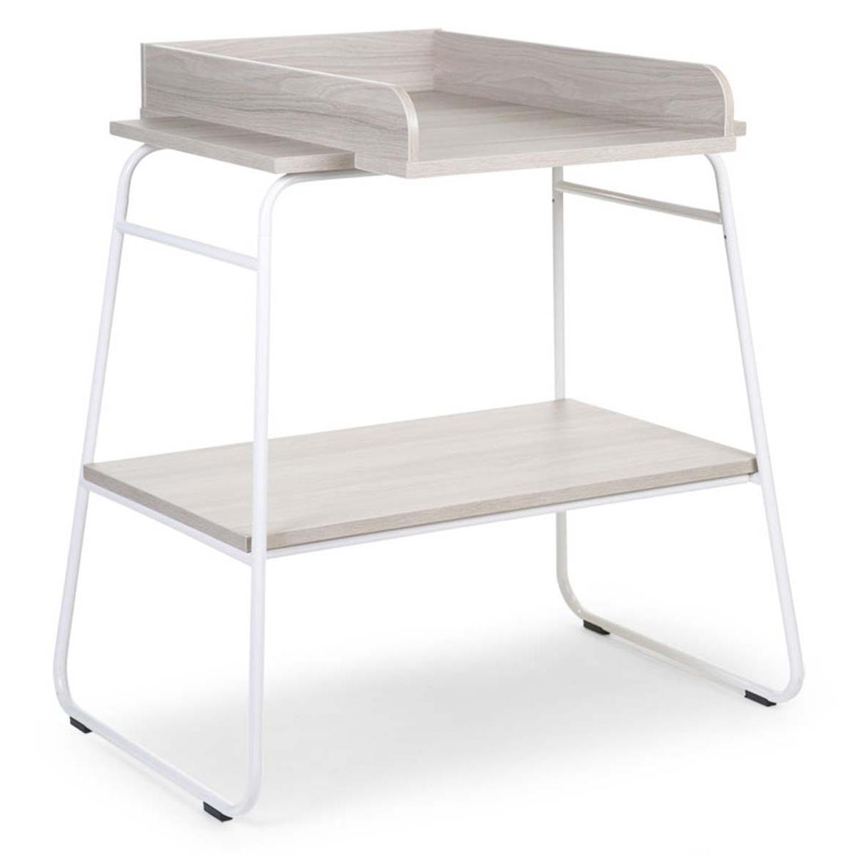 Table à langer Table à Langer Ironwood Large - Ashen et Blanc Table à Langer Ironwood Large - Ashen et Blanc