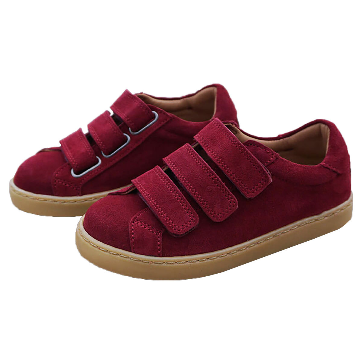Chaussons & Chaussures Basket Môme Grenat - 26