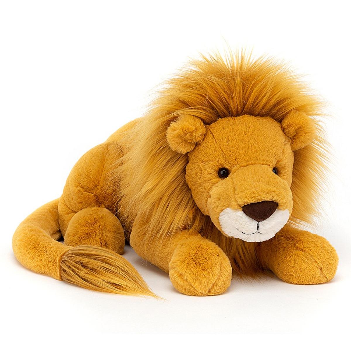 Peluche Louie Lion - Large Peluche Lion 54 cm