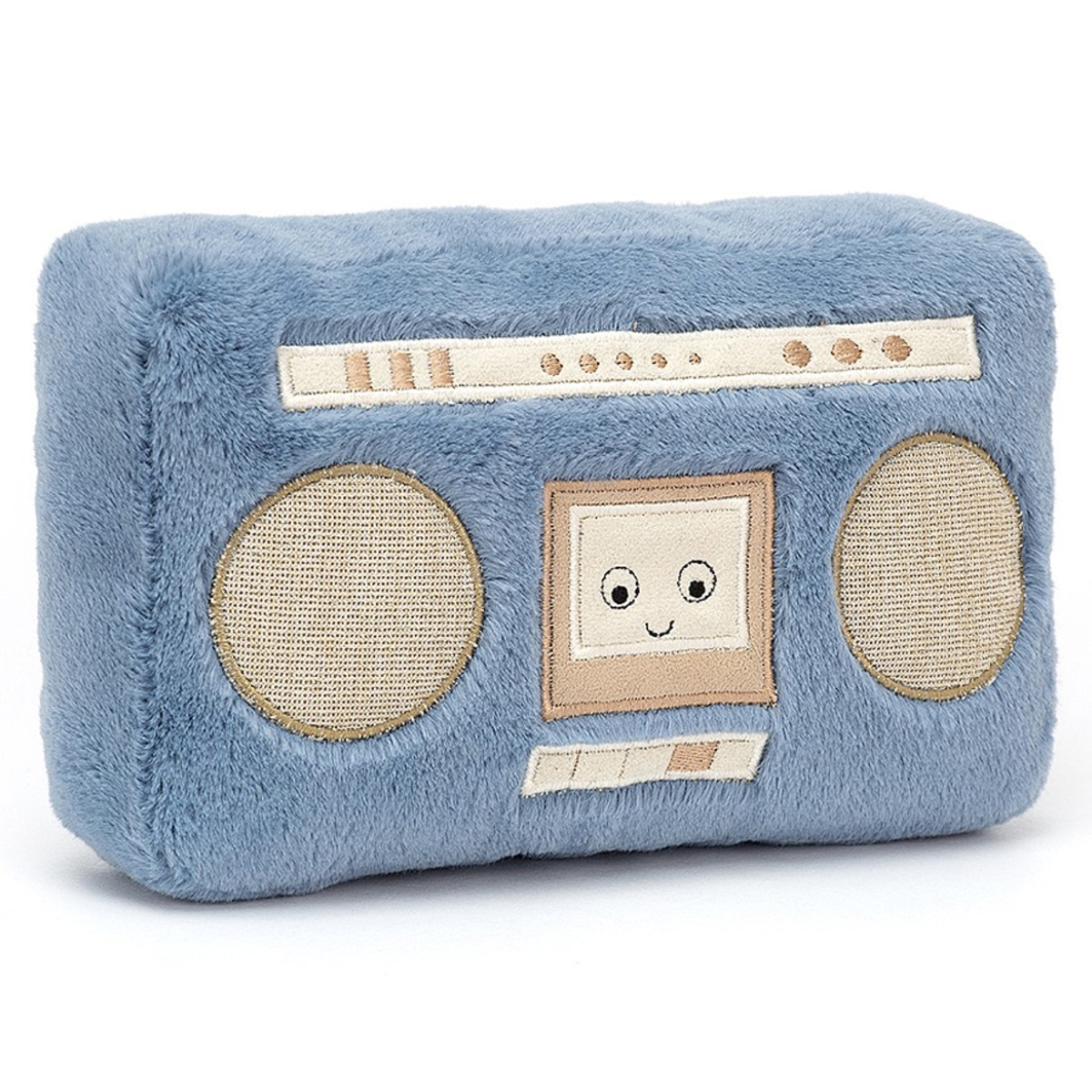 Peluche Wiggedy Boombox - Petit Peluche Radio