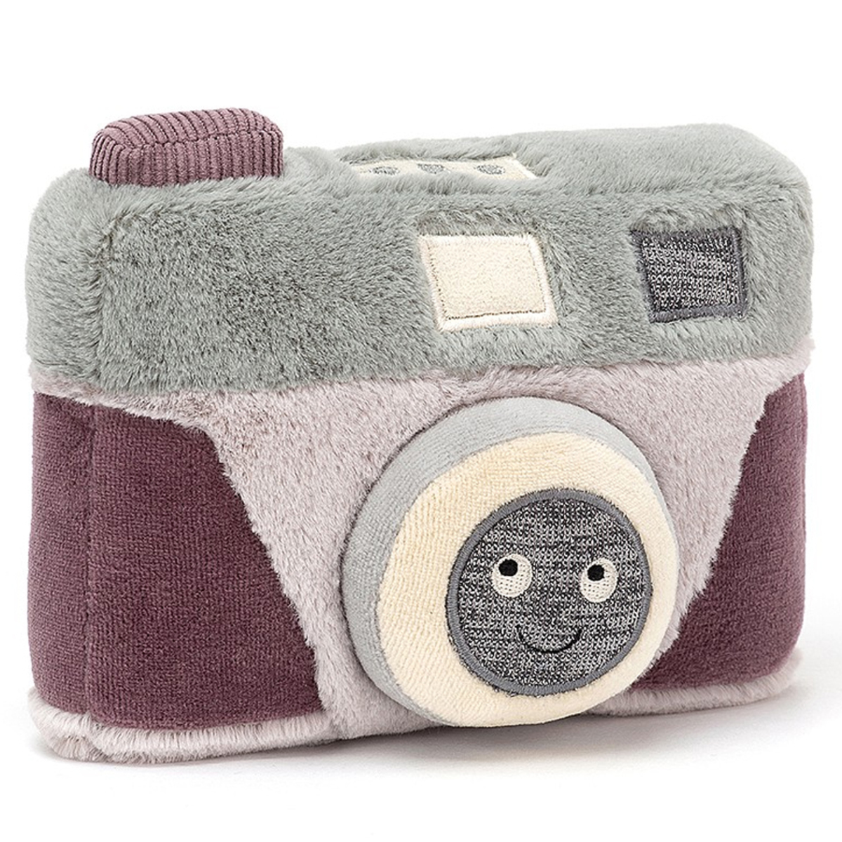 Peluche Wiggedy Camera - Petit Peluche Appareil Photo