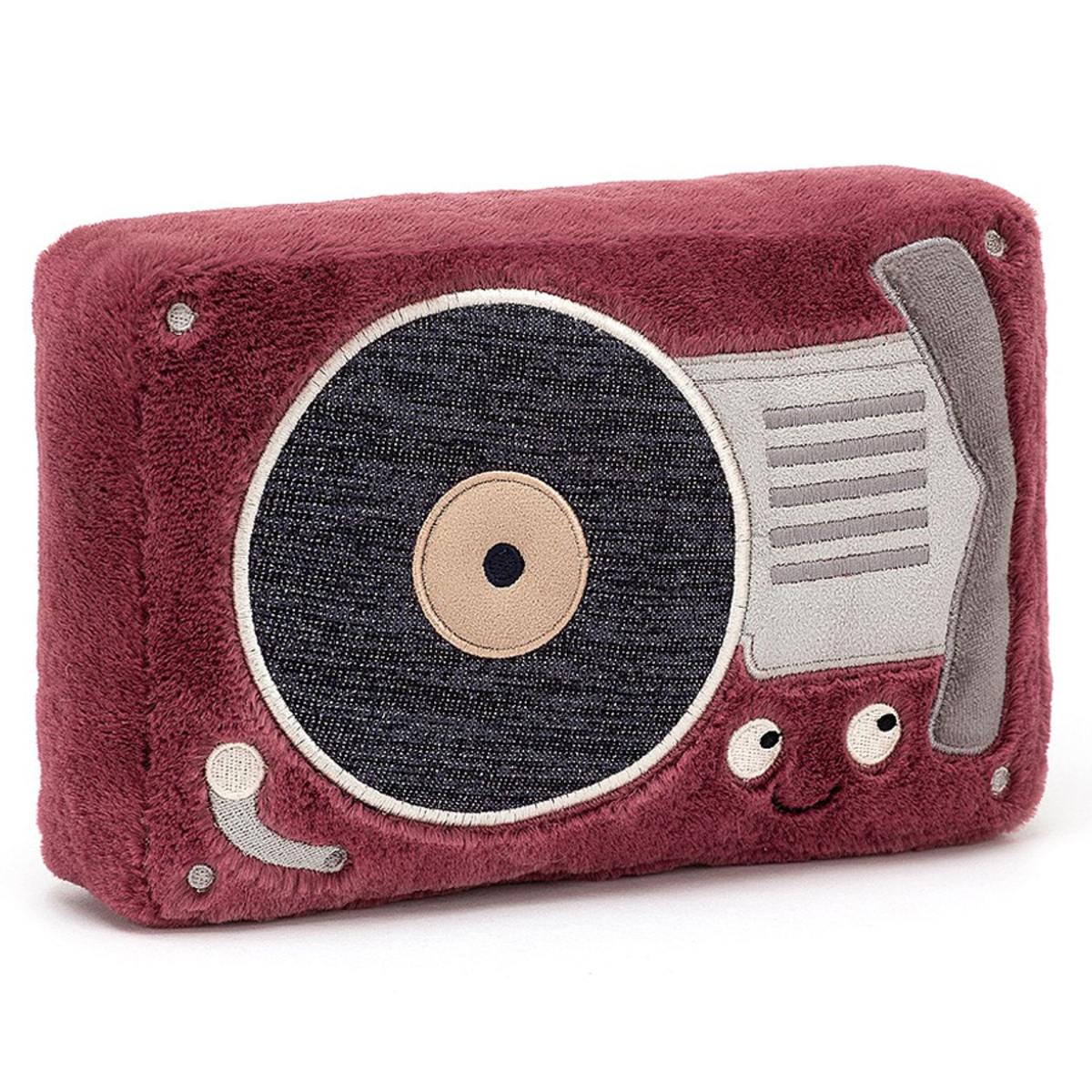 Peluche Wiggedy Record Player - Petit Peluche Tourne-disque