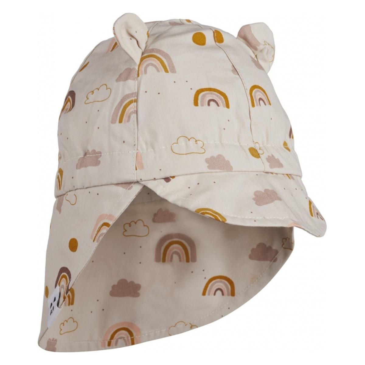 Accessoires bébé Casquette Gorm Rainbow Love Sandy - 0/6 Mois Liewood - AR202001210063