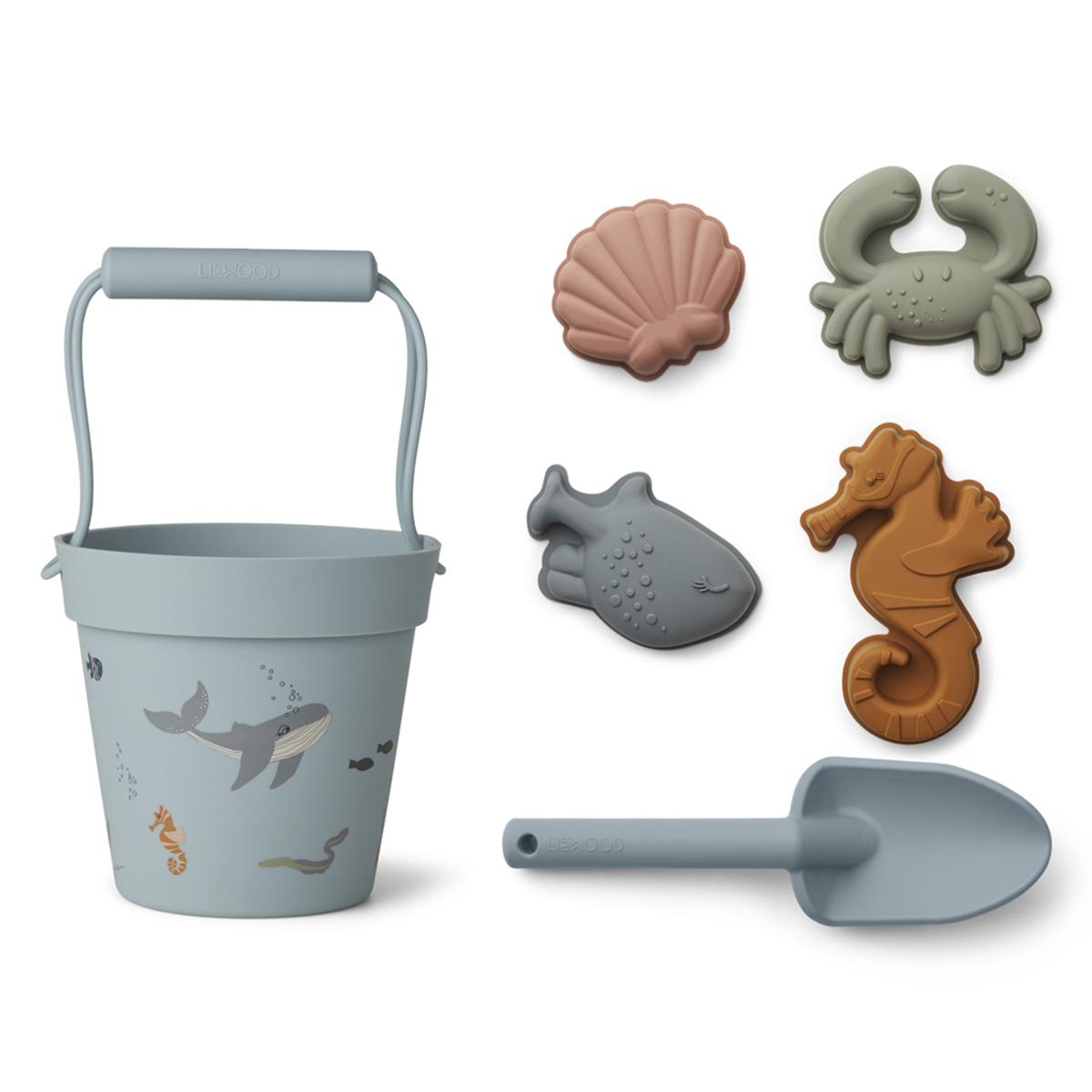 Mes premiers jouets Set de Plage Dante - Sea Creature Mix Liewood - AR202001210071