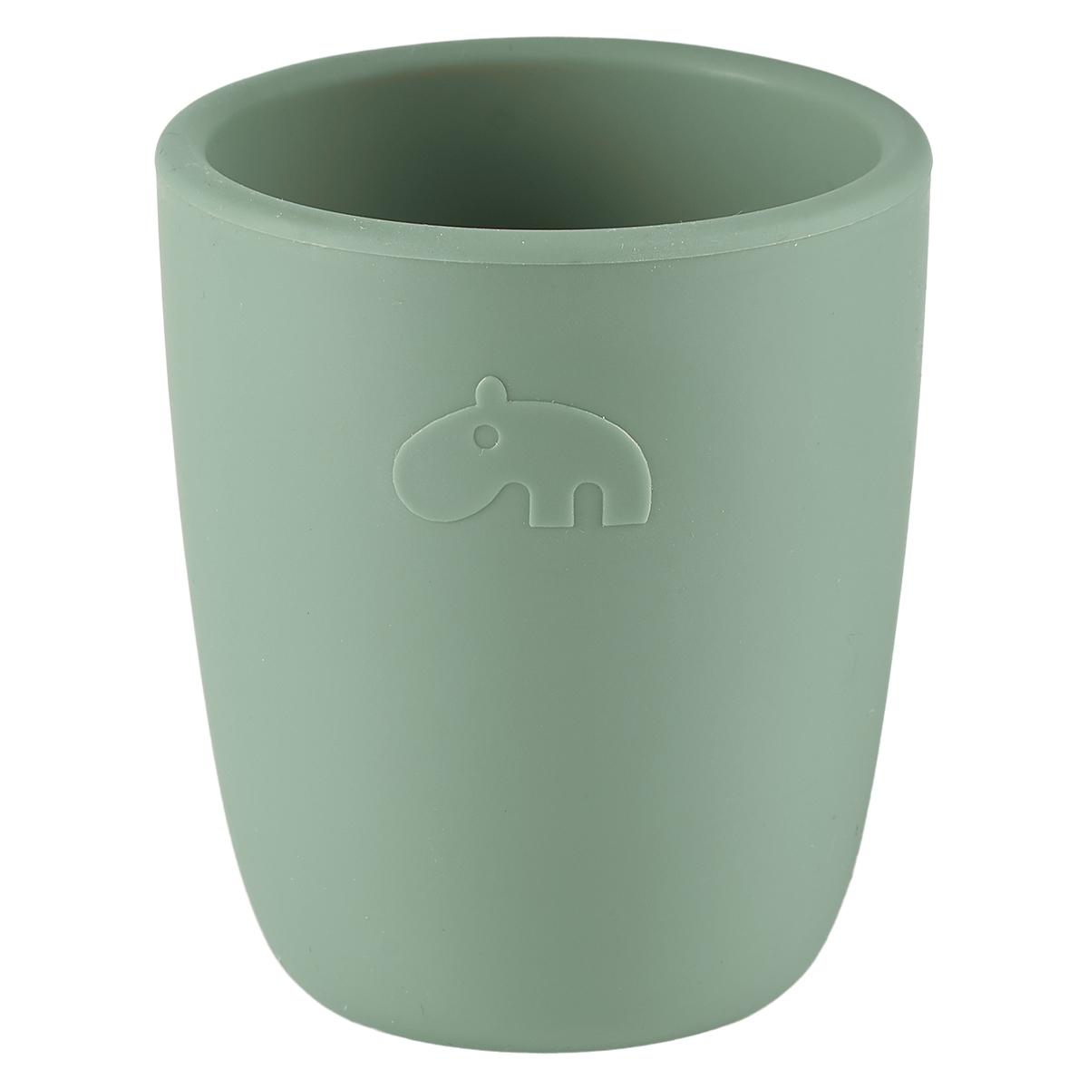 Tasse & Verre Verre Silicone - Vert Verre Silicone - Vert