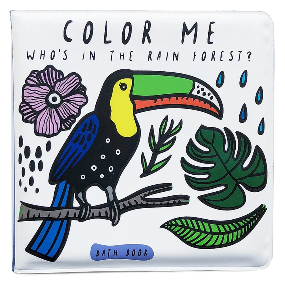 Livre & Carte Livre de Bain Color Me - Who's in The Rainforest Livre de Bain Color Me - Who's in The Rainforest