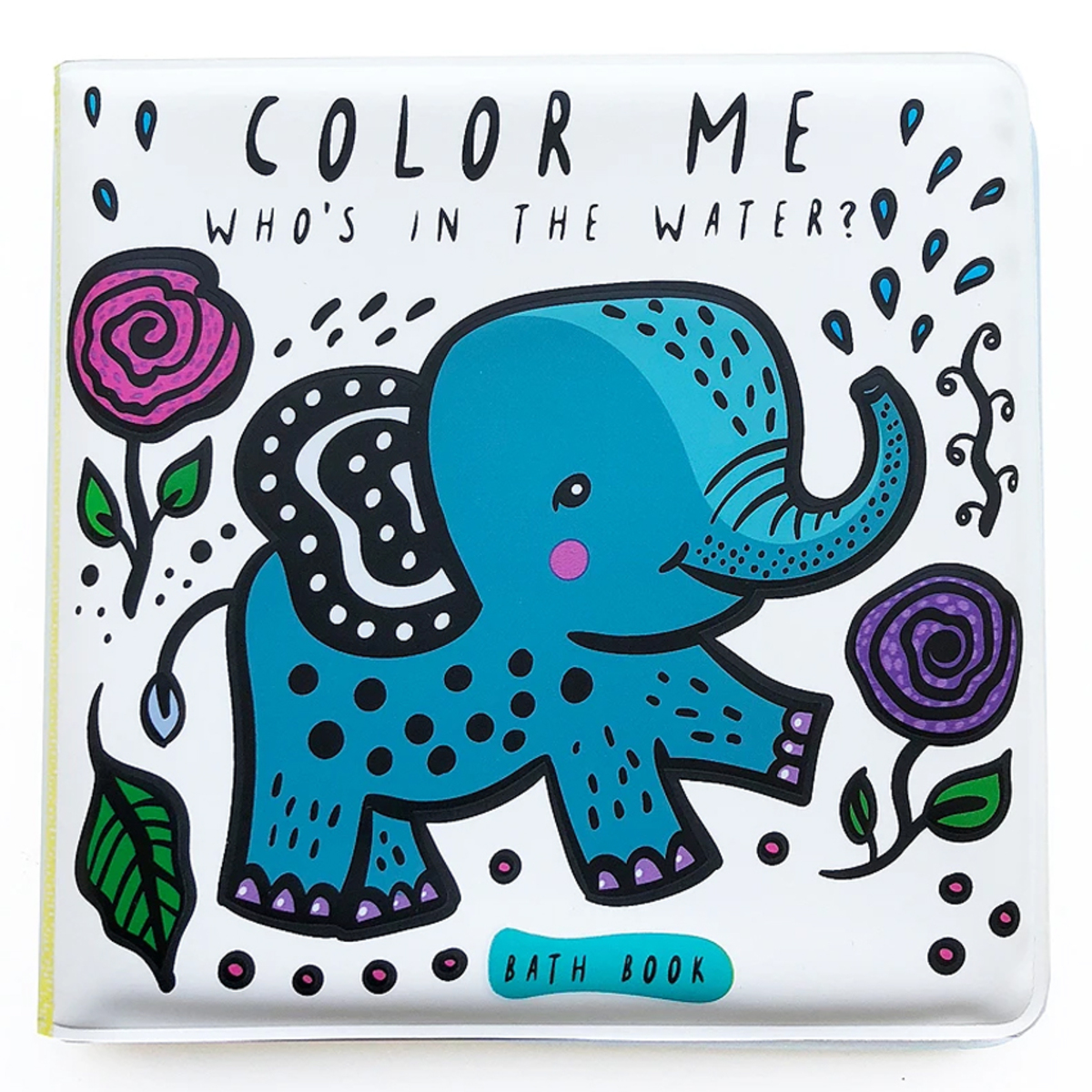 Livre & Carte Livre de Bain Color Me - Who's in The Water