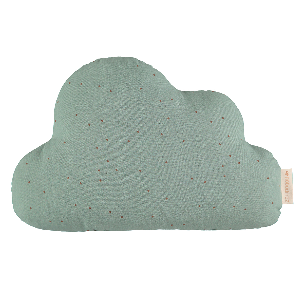Coussin Coussin Cloud - Toffee Sweet Dots & Eden Green Coussin Cloud - Toffee Sweet Dots & Eden Green