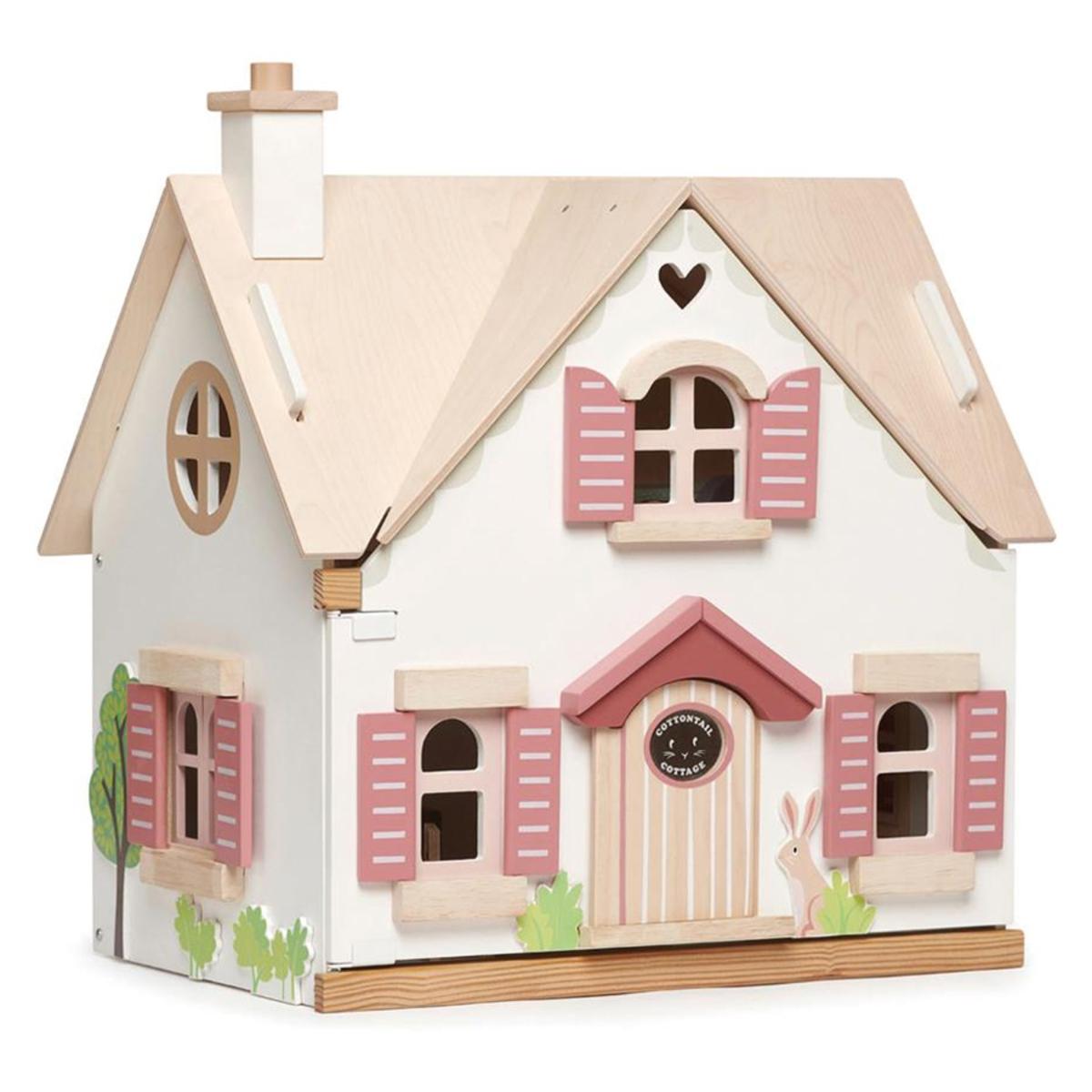 Mes premiers jouets Maison de Poupées Cottontail Tender Leaf Toys - AR202001280089