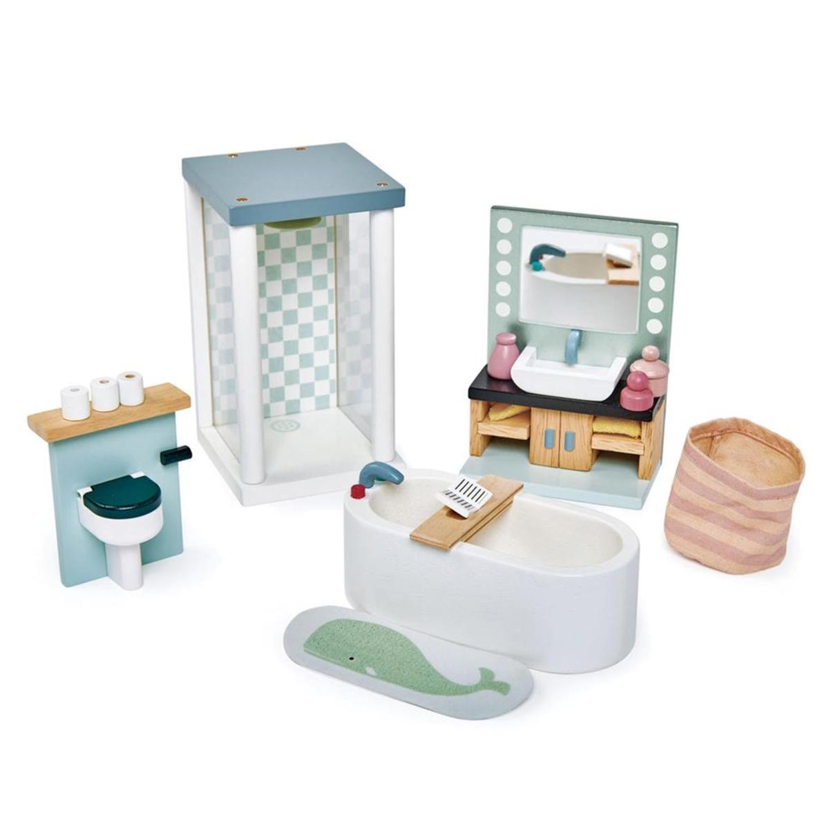 Mes premiers jouets Meubles de Salle de Bain de Poupées Tender Leaf Toys - AR202001280093