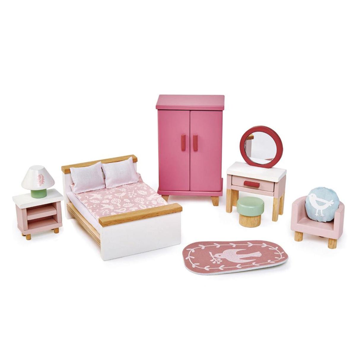 Mes premiers jouets Meubles de Chambre à Coucher de Poupées Tender Leaf Toys - AR202001280094