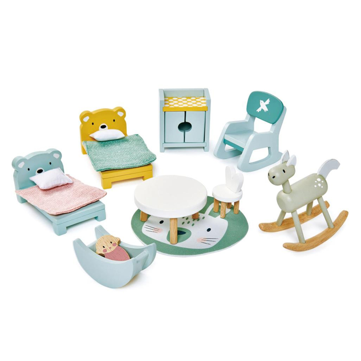 Mes premiers jouets Meubles de Chambre d'Enfants Poupées Tender Leaf Toys - AR202001280099