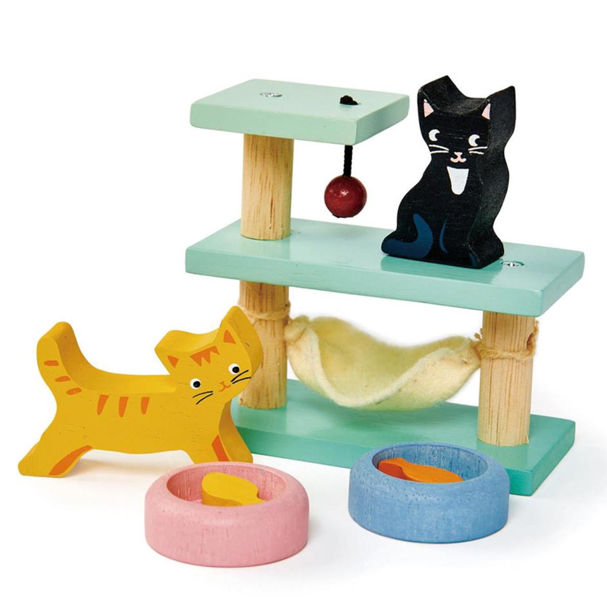 Mes premiers jouets Set Animaux Domestiques Chats Tender Leaf Toys - AR202001280101