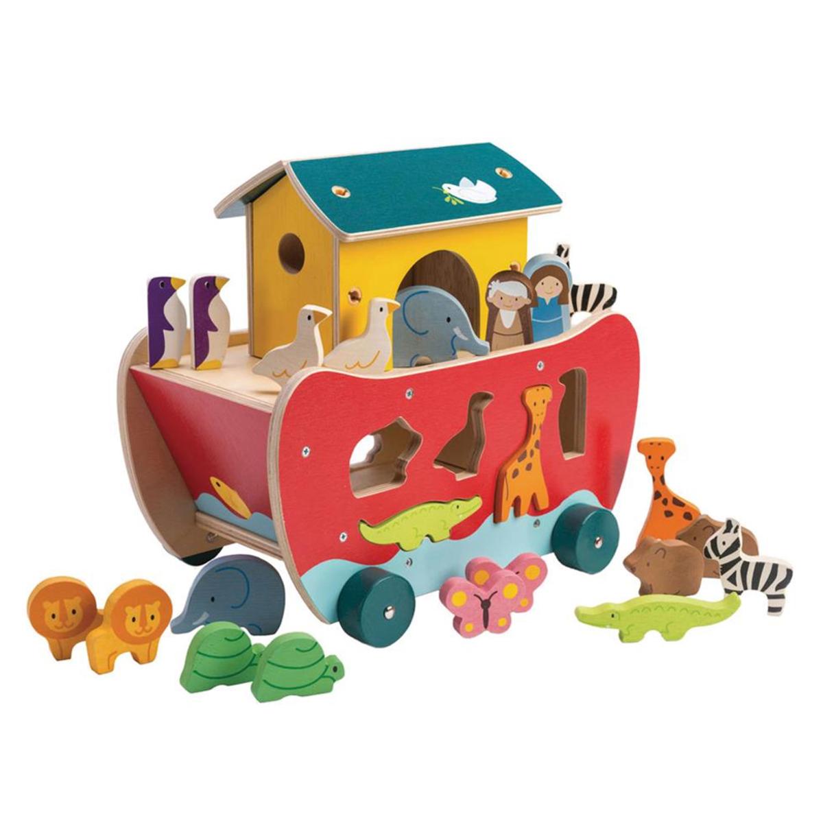 Mes premiers jouets Boîte à Formes Arche de Noé Tender Leaf Toys - AR202001280109