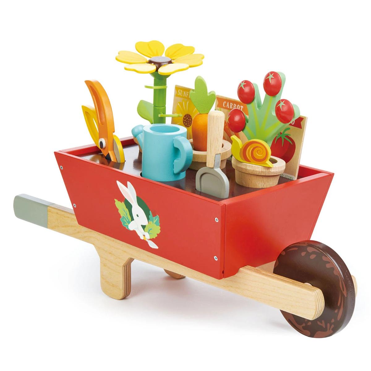 Mes premiers jouets Brouette avec Set de Jardin Brouette avec Set de Jardin