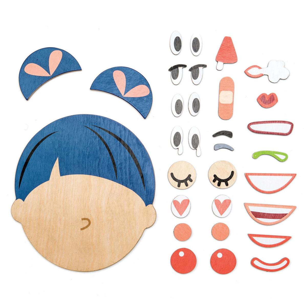 Mes premiers jouets Puzzle des Emotions Tender Leaf Toys - AR202001280120