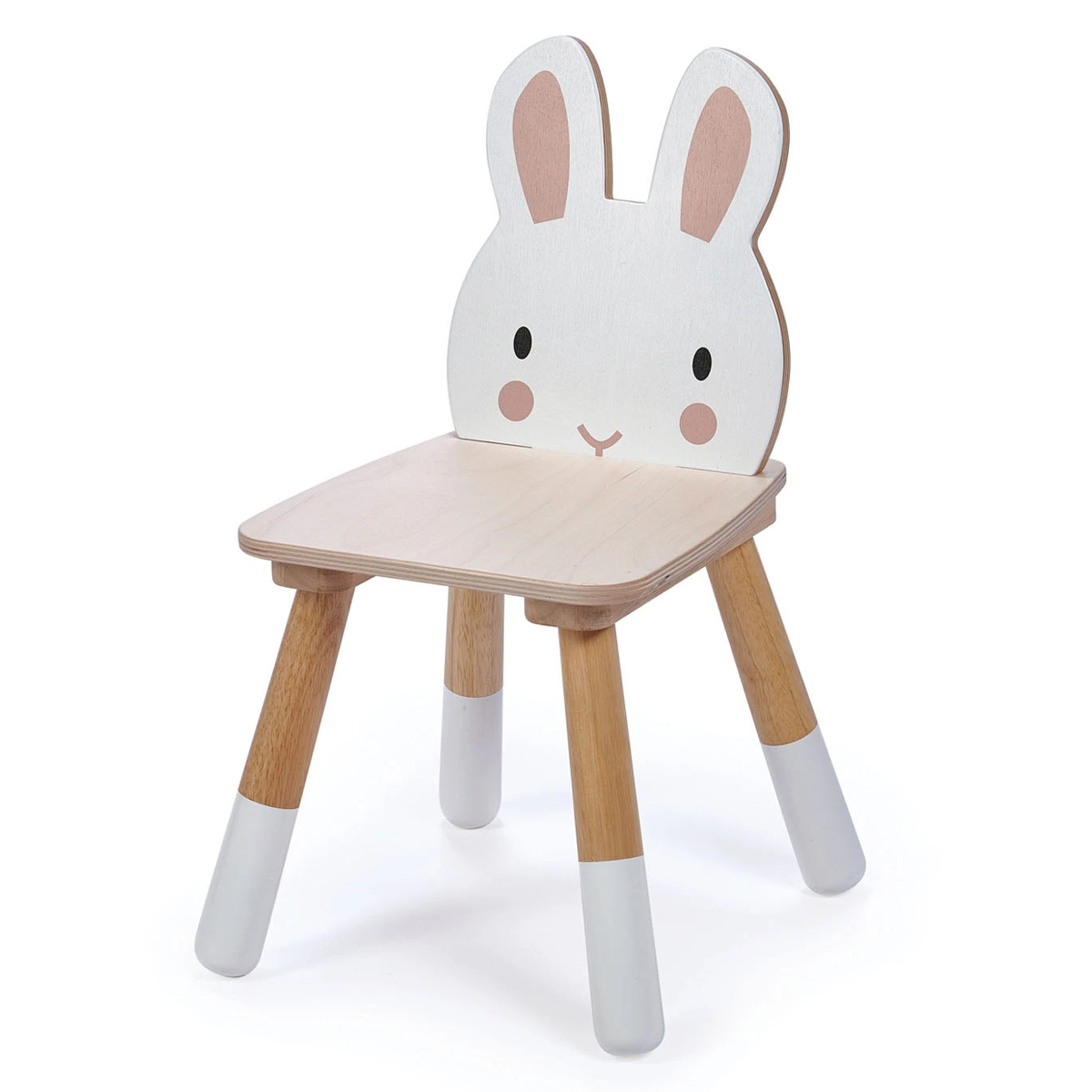 Table & Chaise Chaise Forêt Lapin