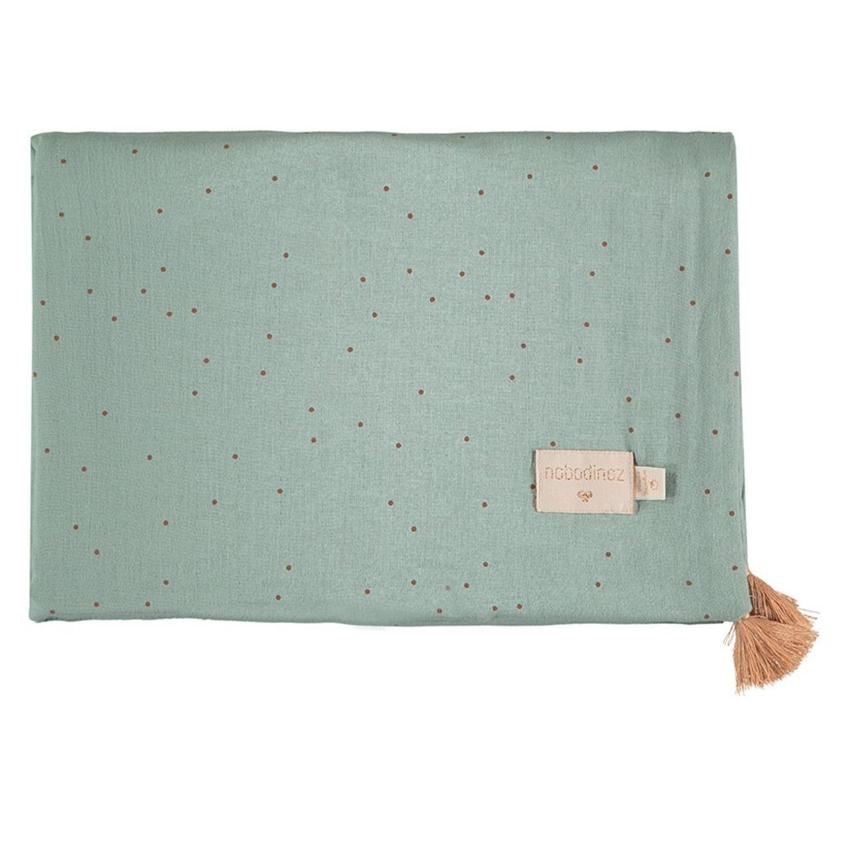 Linge de lit Couverture d'Eté Treasure - Toffee Sweet Dots & Eden Green