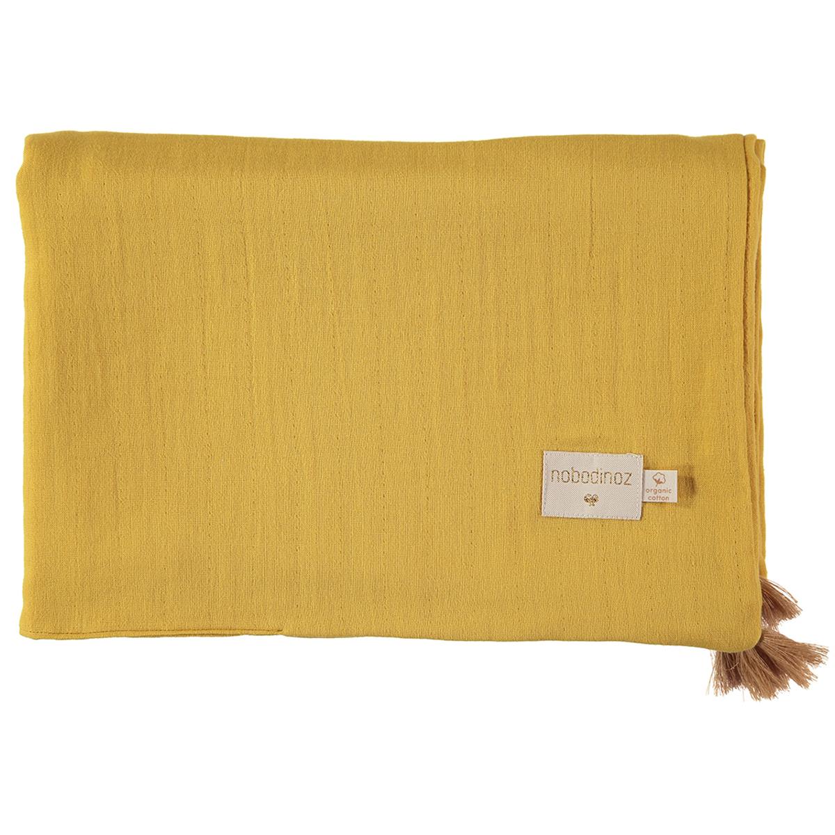 Linge de lit Couverture d'Eté Treasure - Farniente Yellow Nobodinoz - AR201902130098
