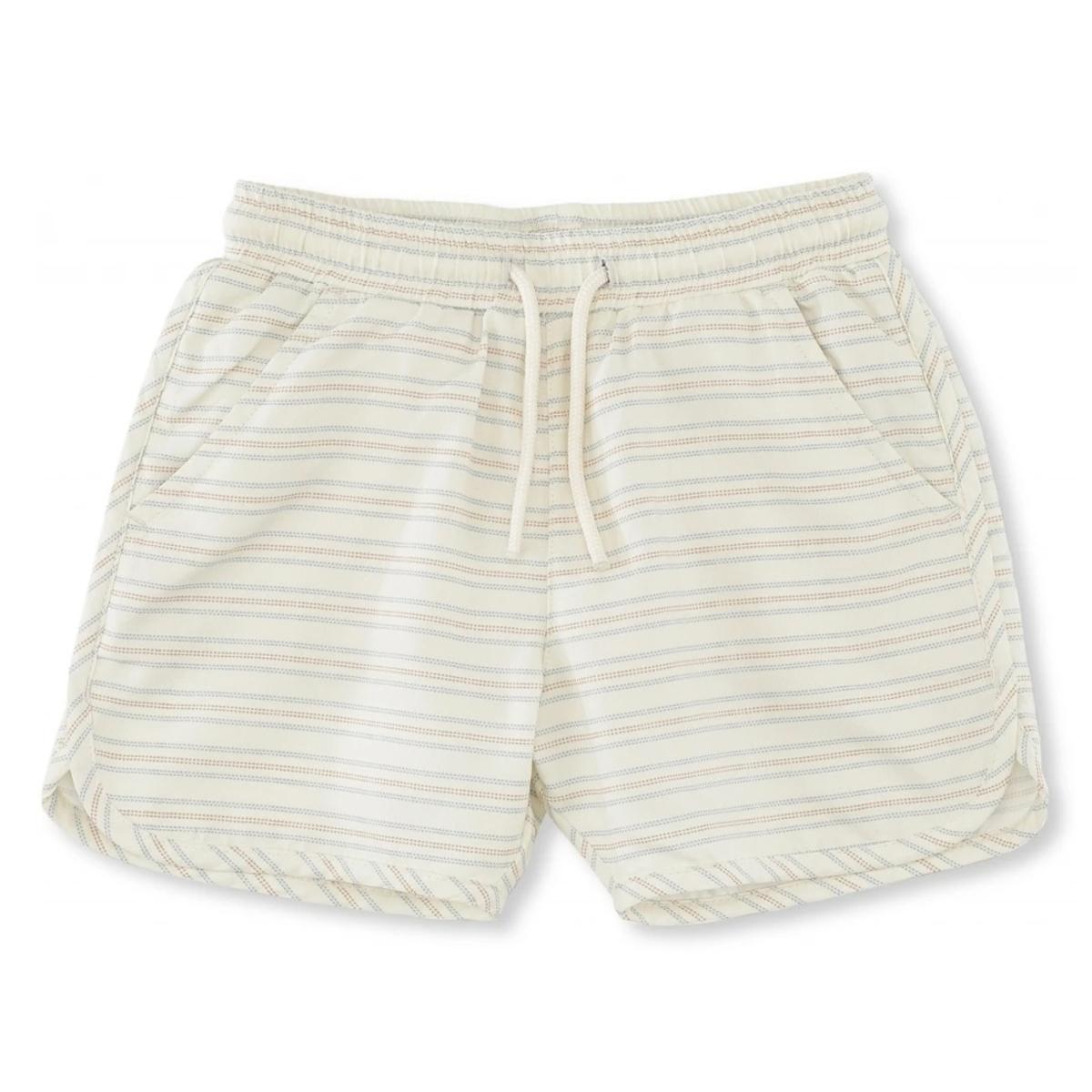 Accessoires bébé Short de Bain Vintage Stripes - 24/36 Mois