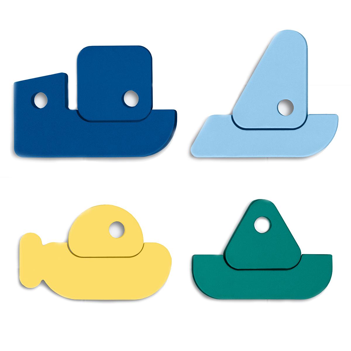 Mes premiers jouets Puzzle de Bain Rock the Boat Quutopia - AR202002210064