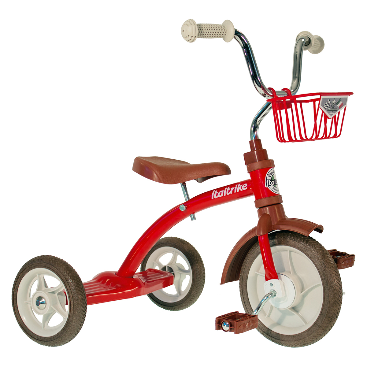 Trotteur & Porteur Tricycle Super Lucy Champion - Rouge Tricycle Super Lucy Champion - Rouge