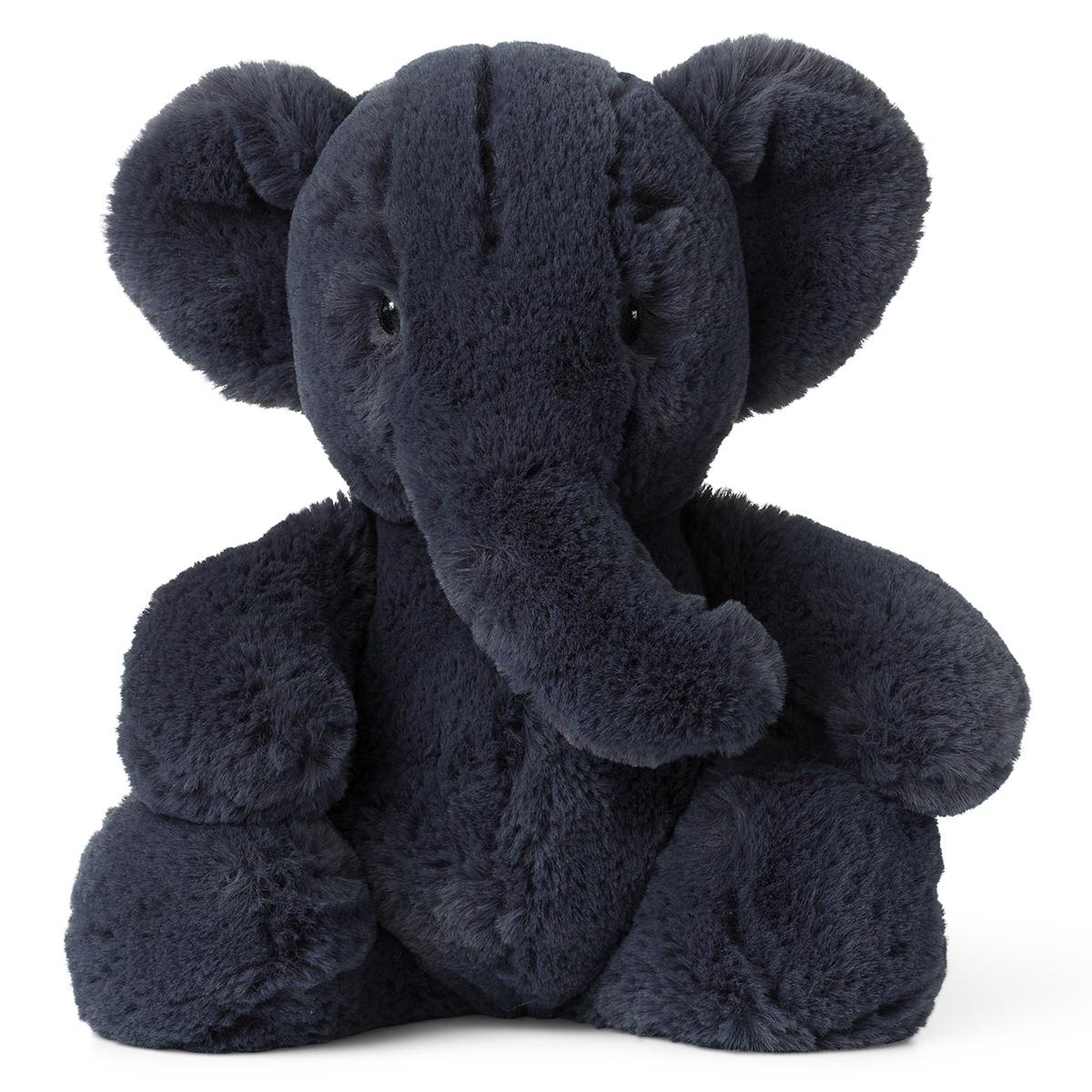 Peluche Ebu l'Éléphant Gris - Moyen Peluche Éléphant Gris 29 cm