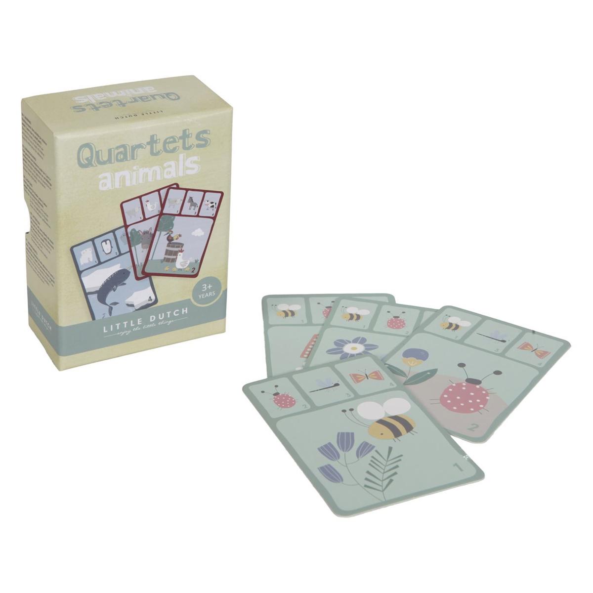 Mes premiers jouets Jeu de Cartes Quartets Animaux Jeu de Cartes Quartets Animaux