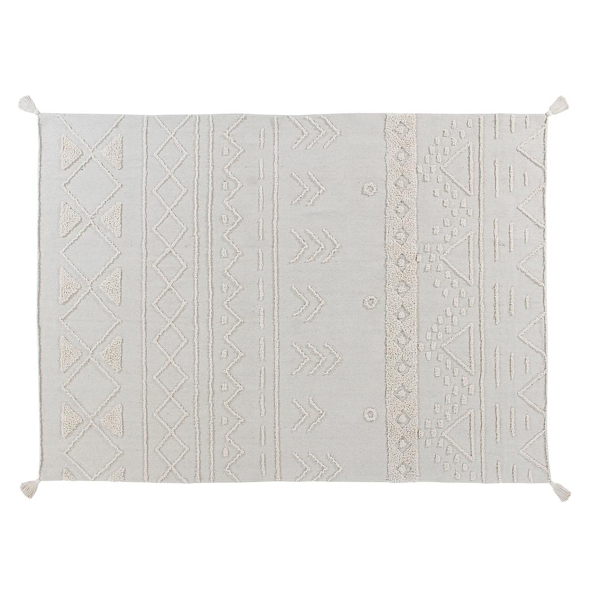 Tapis Tapis Lavable Tribu Naturel - 140 x 200 cm Tapis Lavable Tribu Naturel - 140 x 200 cm