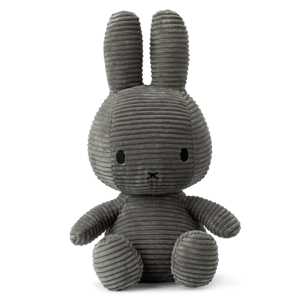 Peluche Lapin Miffy Anthracite - Petit Peluche Lapin Miffy Anthracite 24 cm