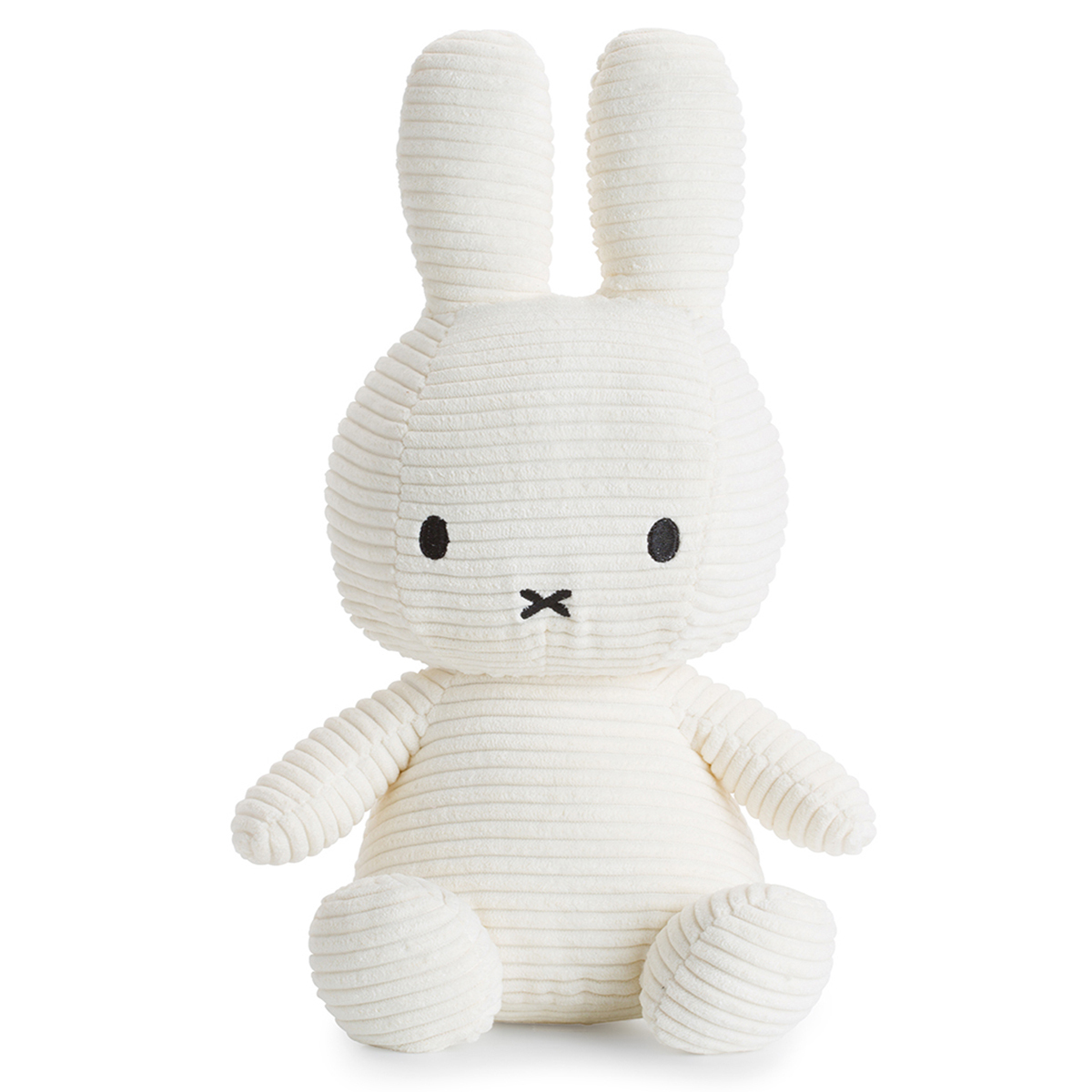 Peluche Lapin Miffy Blanc - Grand Lapin Miffy Blanc 50 cm