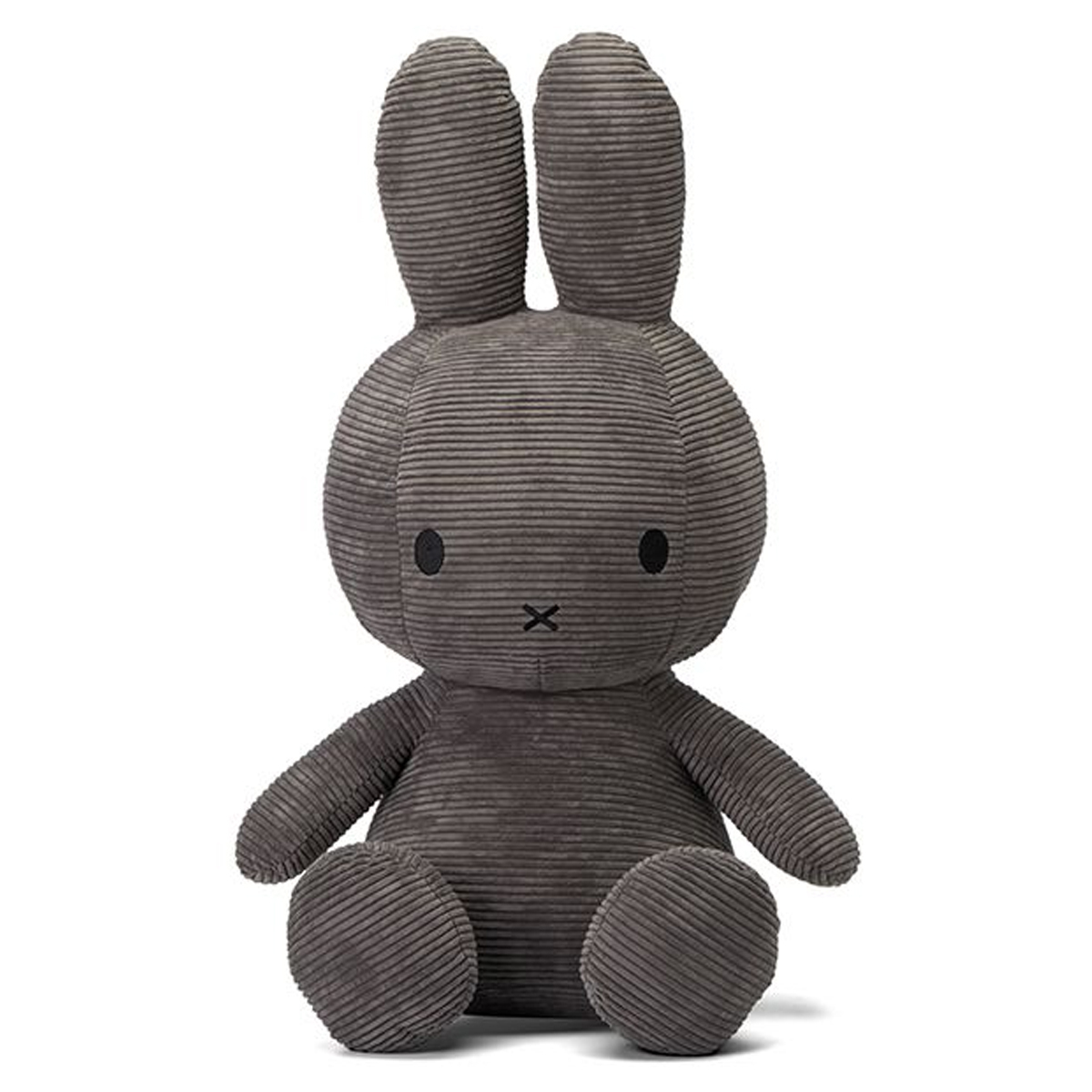 Peluche Lapin Miffy Anthracite - Géant Peluche Lapin Miffy Anthracite 70 cm