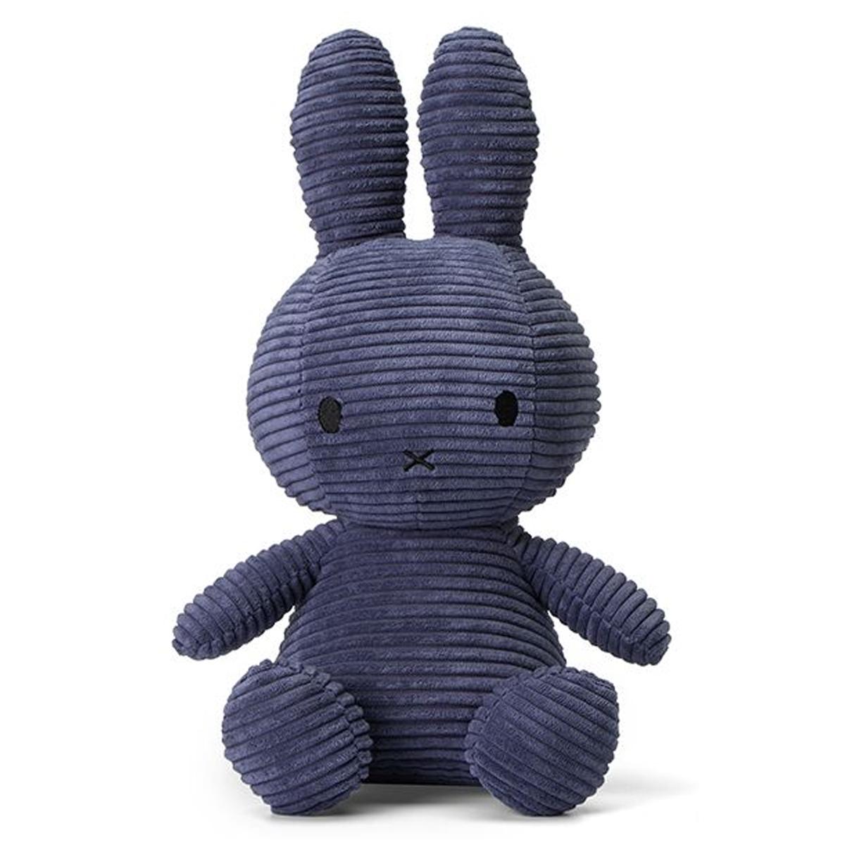 Peluche Peluche Lapin Miffy Bleu Nuit - Moyen Peluche Lapin Miffy Bleu Nuit 33 cm