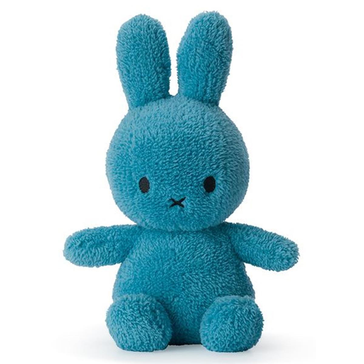 Peluche Lapin Miffy Extra Doux Bleu Océan - Moyen Peluche Lapin Extra Doux Bleu Océan 23 cm
