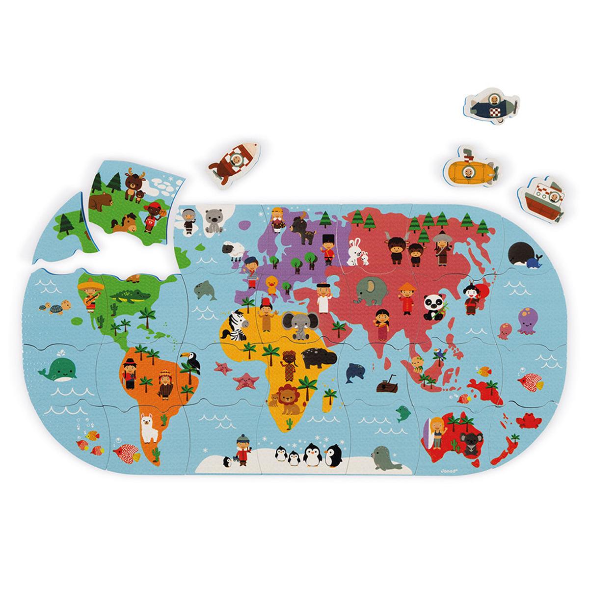Mes premiers jouets Carte des Explorateurs du Bain Carte des Explorateurs du Bain