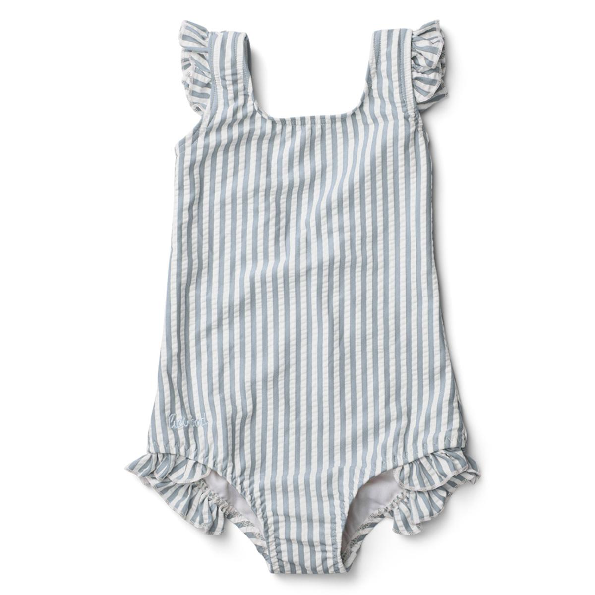 Accessoires bébé Maillot de Bain Tanna Rayé Bleu et Blanc - 18/36 Mois Maillot de Bain Tanna Rayé Bleu et Blanc - 18/36 Mois