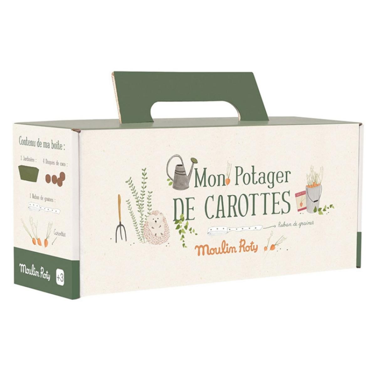 Mes premiers jouets Kit Jardinière Carottes - Le Jardin Du Moulin Kit Jardinière Carottes - Le Jardin Du Moulin