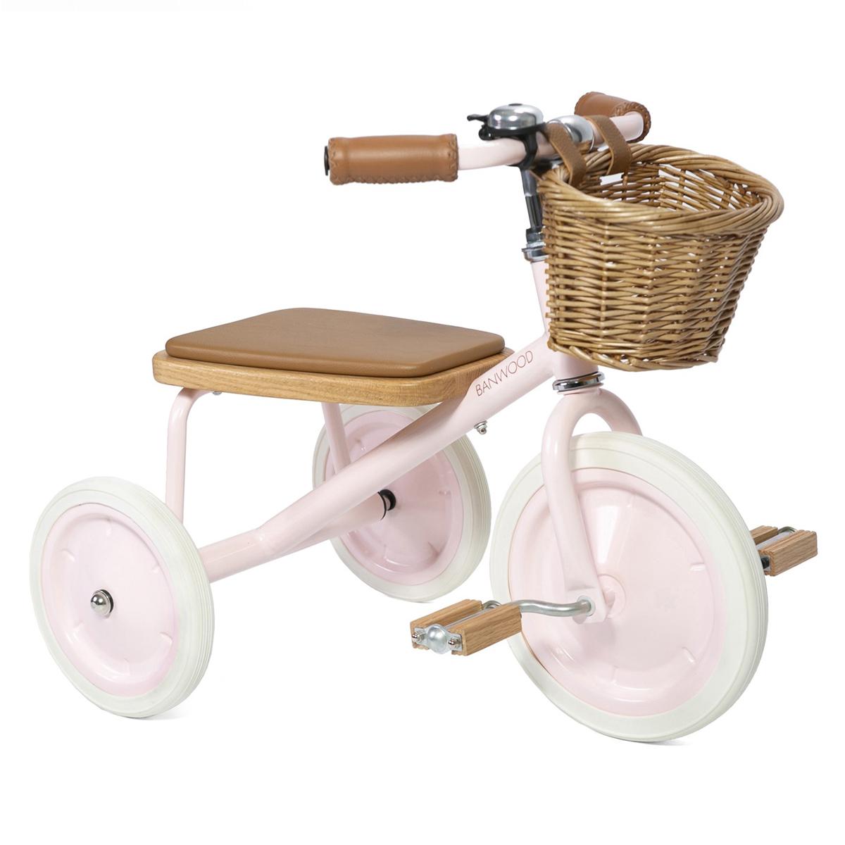 Trotteur & Porteur Tricycle Trike - Rose Pale Tricycle Trike - Rose Pale