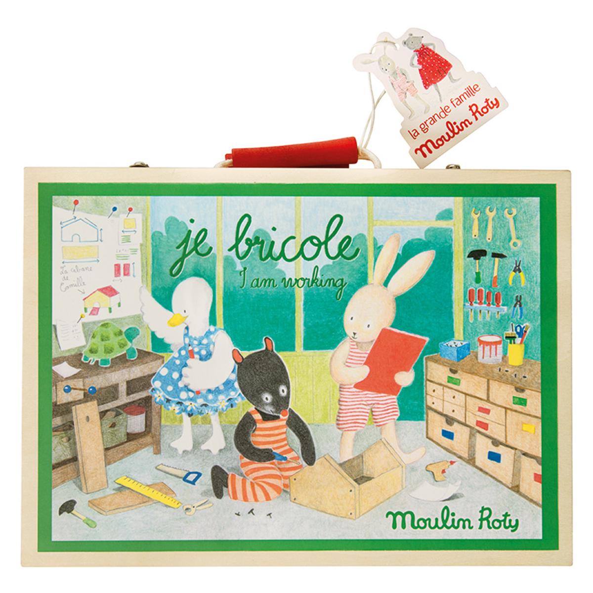 Mes premiers jouets Valise Je Bricole - La Grande Famille Valise Je Bricole - La Grande Famille