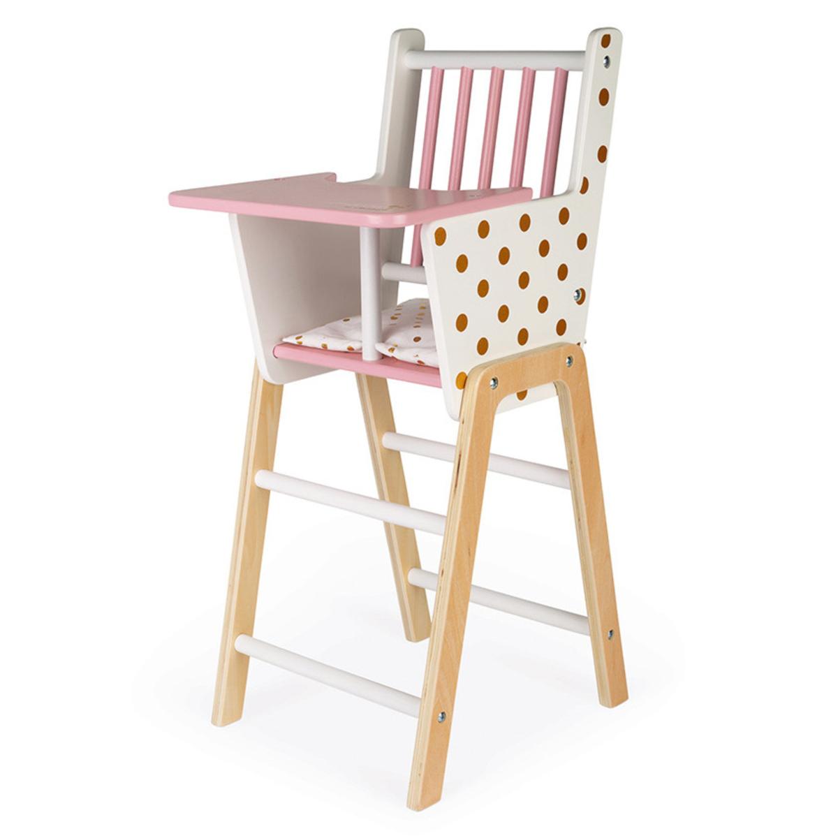 Chaise Haute pour Poupée Candy Chic