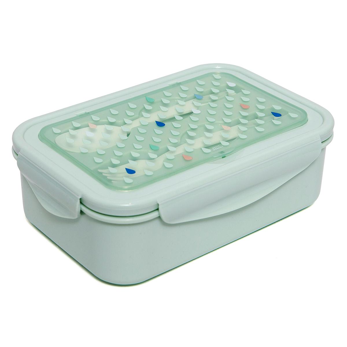 Vaisselle & Couvert Lunchbox avec Couverts - Vert Lunchbox avec Couverts - Vert