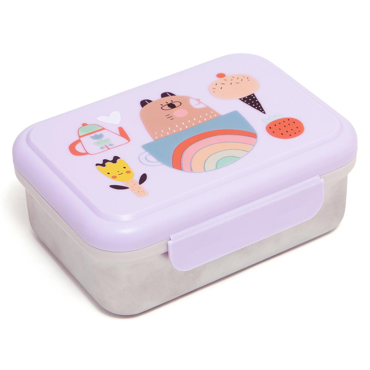 Vaisselle & Couvert Lunchbox Métallique - Ours Lunchbox Métallique - Ours