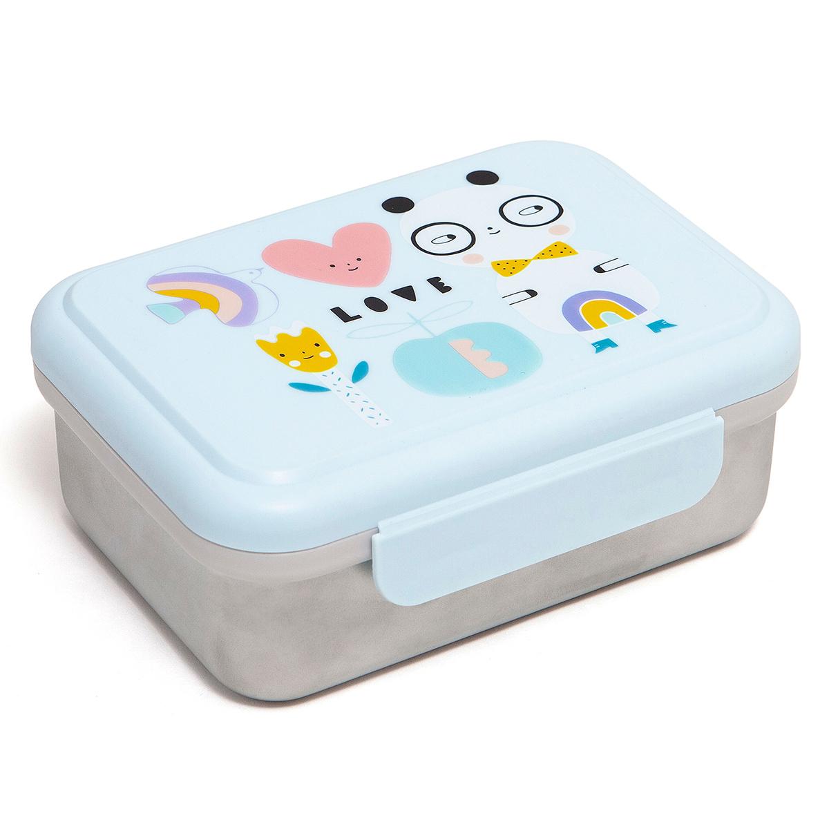 Vaisselle & Couvert Lunchbox Métallique - Panda Love Lunchbox Métallique - Panda Love