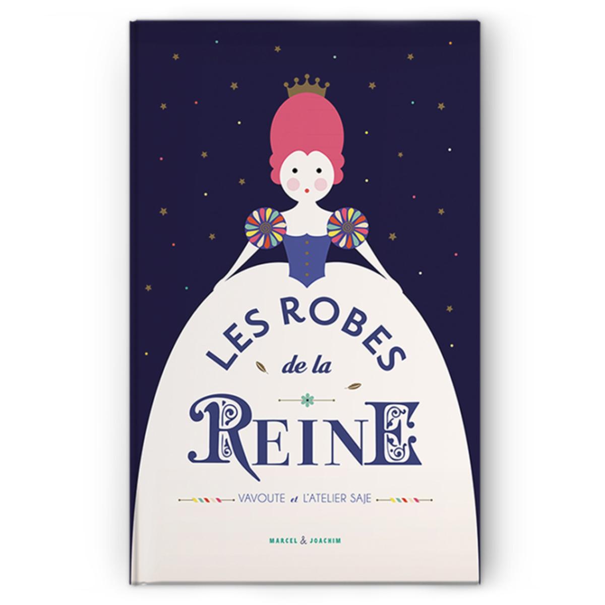 Livre & Carte Les Robes de la Reine Les Robes de la Reine