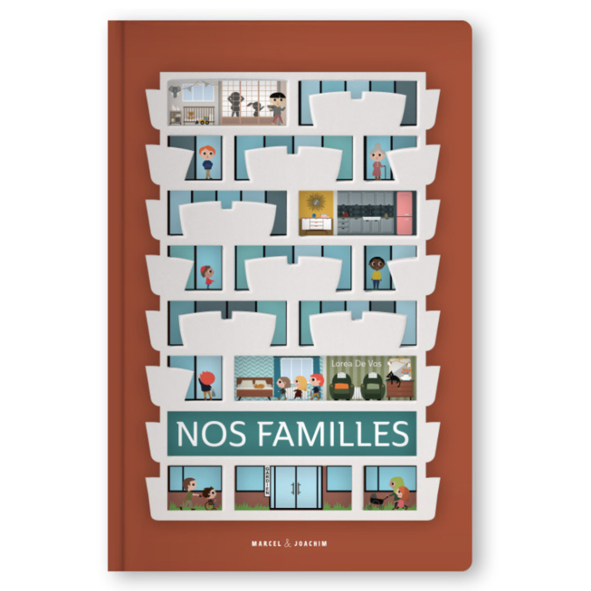 Livre & Carte Nos Familles Nos Familles