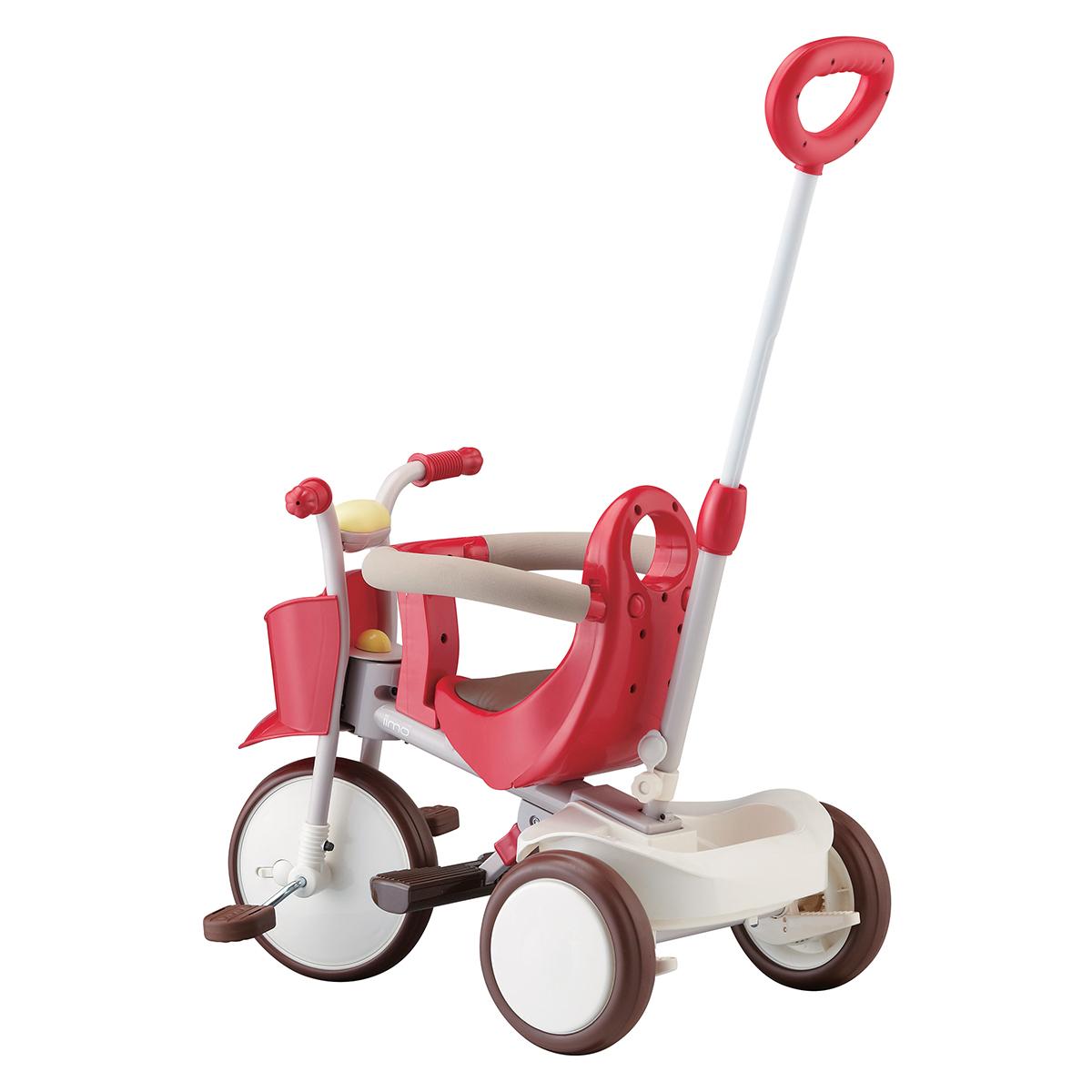 Trotteur & Porteur Tricycle Evolutif - Vital Red Tricycle Evolutif - Vital Red
