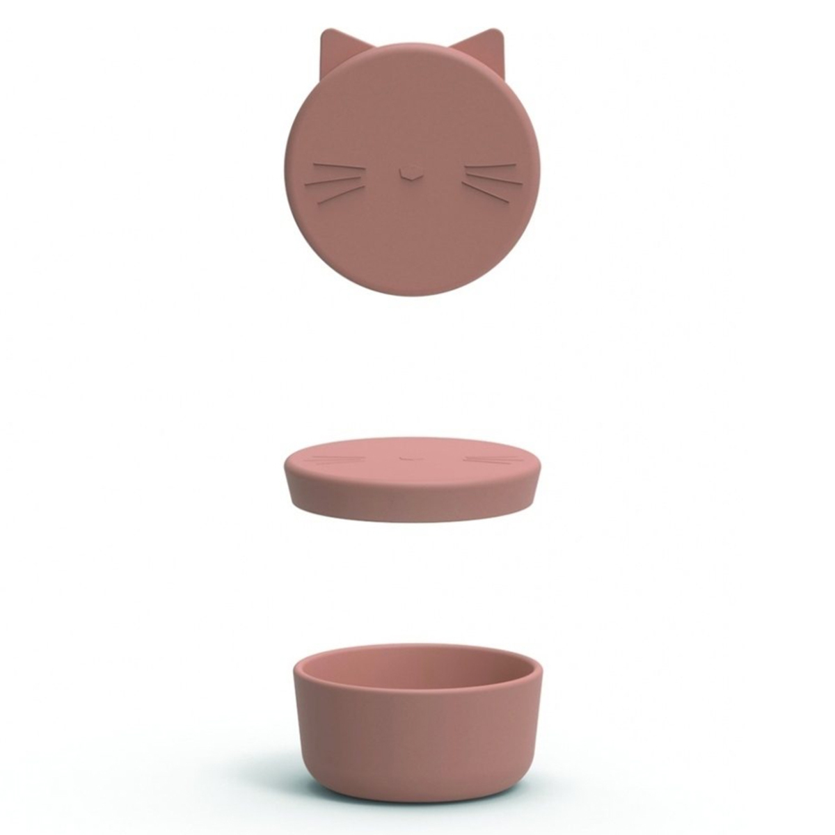Vaisselle & Couvert Boîte à Goûter Cornelius - Cat Dark Rose Boîte à Goûter Cornelius - Cat Dark Rose