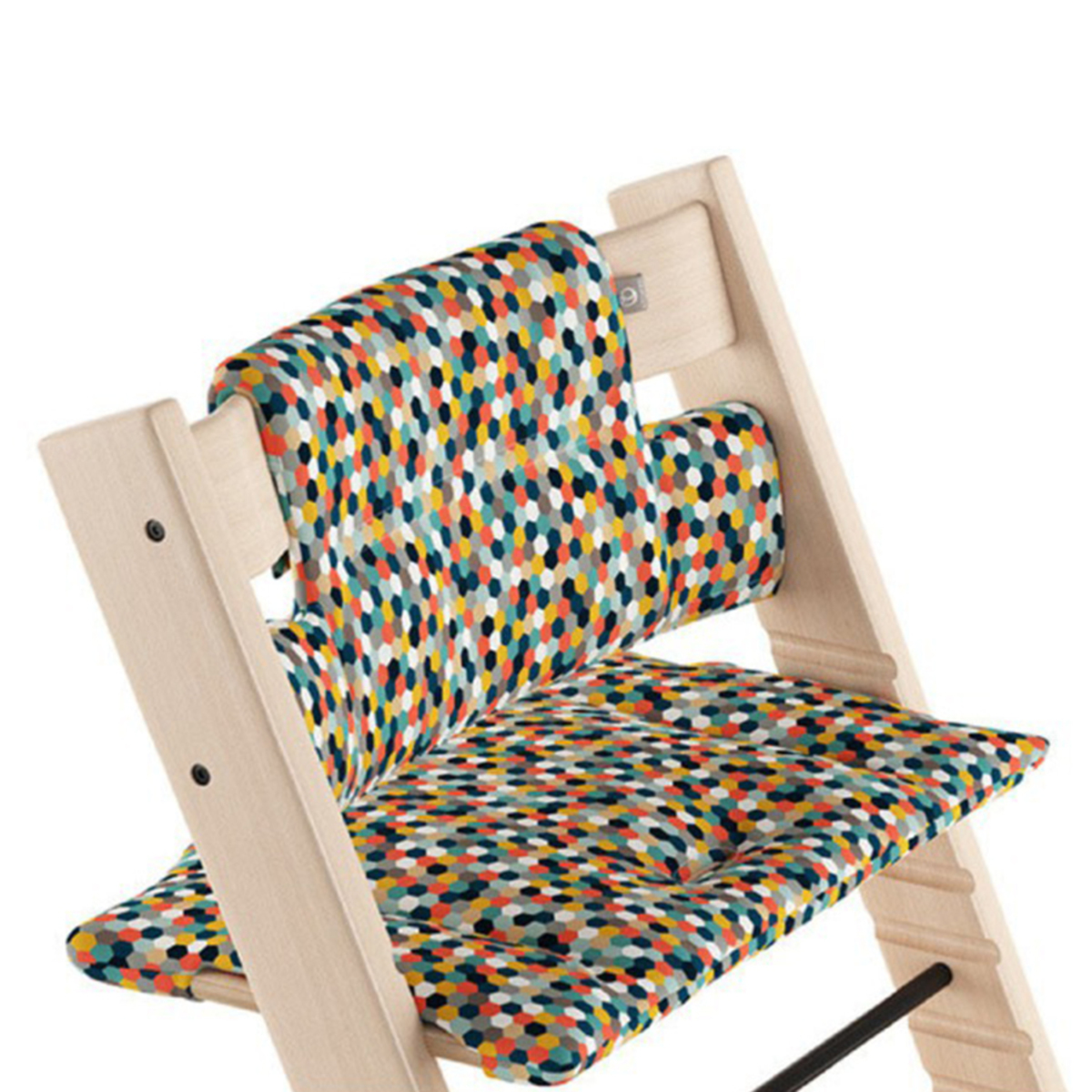 Chaise haute Coussin Classic Tripp Trapp - Nid d'Abeille Lumineux Coussin Classic Tripp Trapp - Nid d'Abeille Lumineux