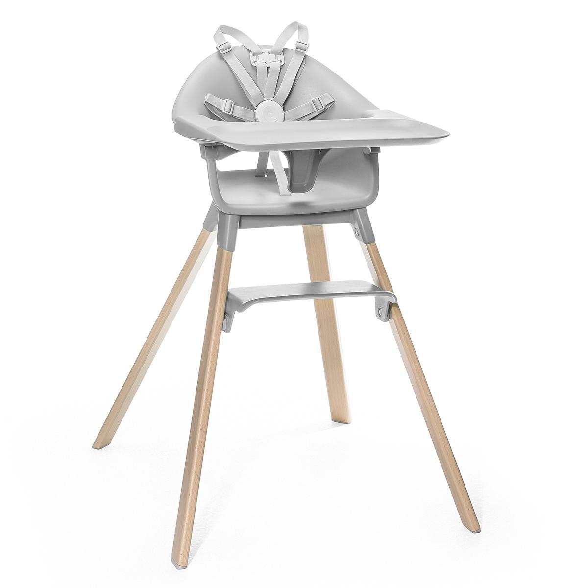 Chaise haute Chaise Haute Clikk - Gris Nuage Chaise Haute Clikk - Gris Nuage